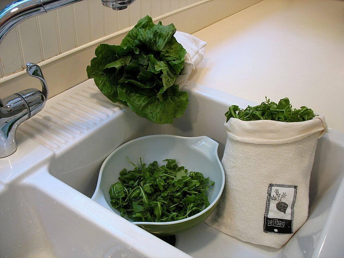 Vejibag sáčky z bio bavlny na uchování čerstvé zeleniny