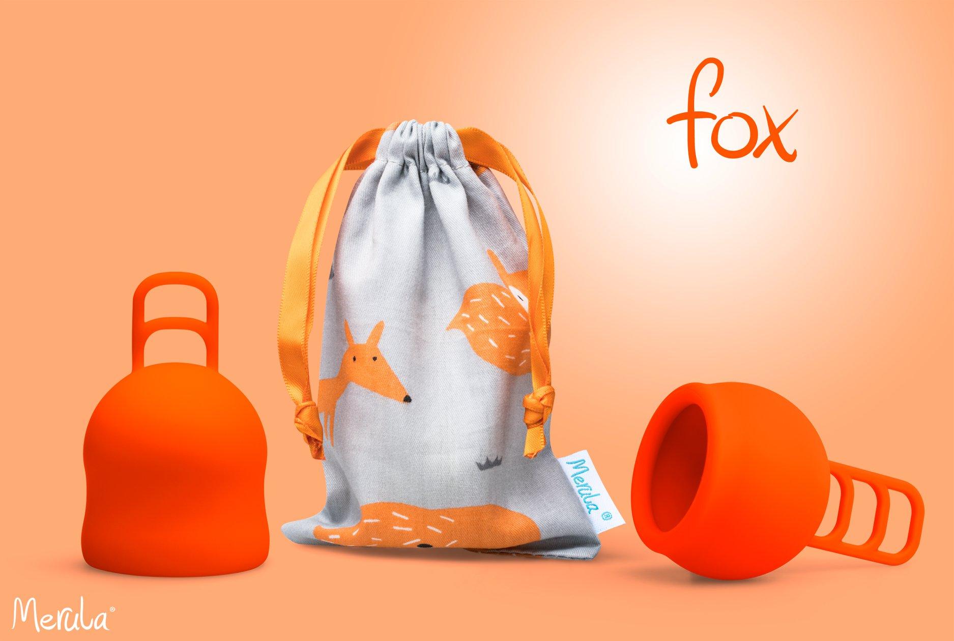 Merula Cup německá značka menstruačních kalíšků pro nízký čípek