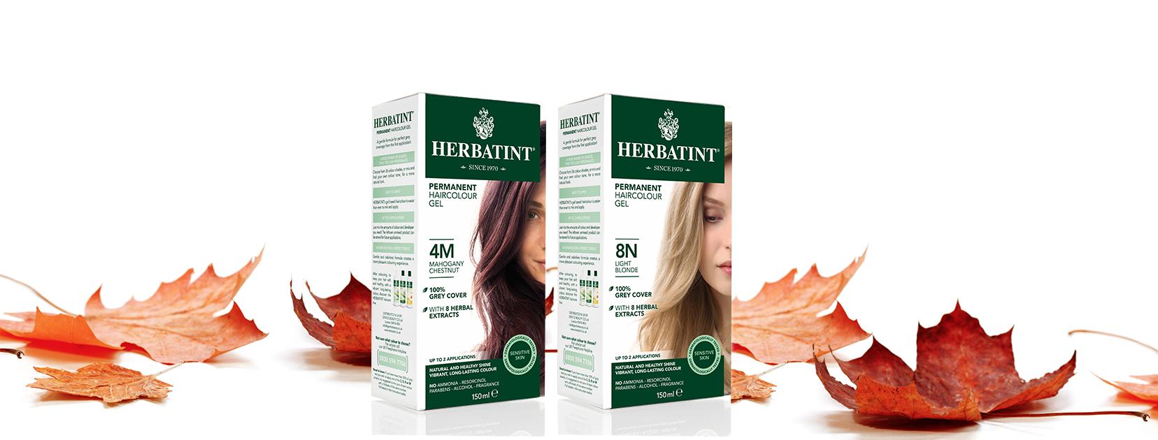 Herbatint - šetrnější bylinné permanentní barvy na vlasy bez amoniaku a s minimem obsahu peroxidu vodíku