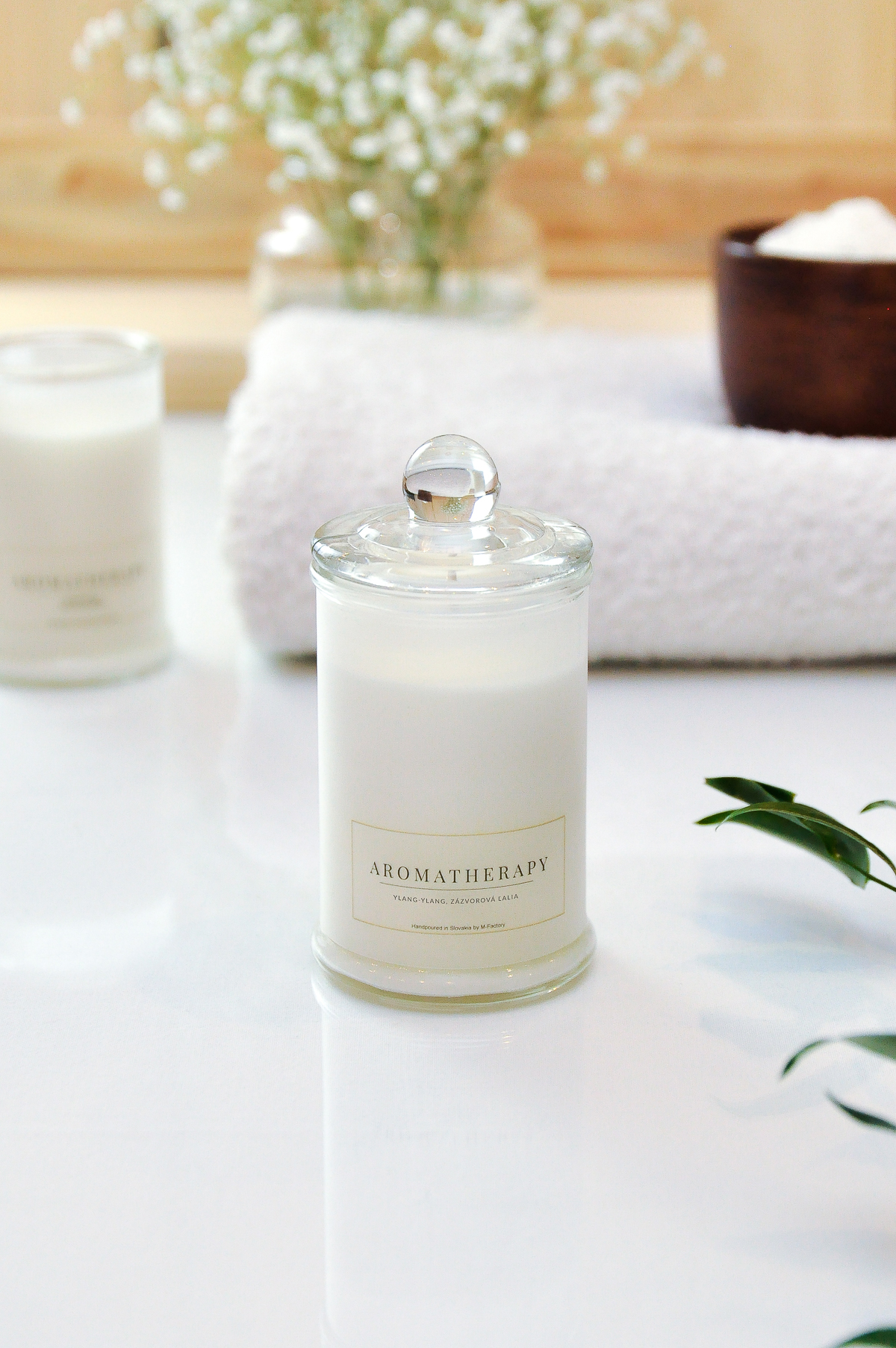 M-Factory slovenská značka svíček z přírodního vosku a krásných difuzérů